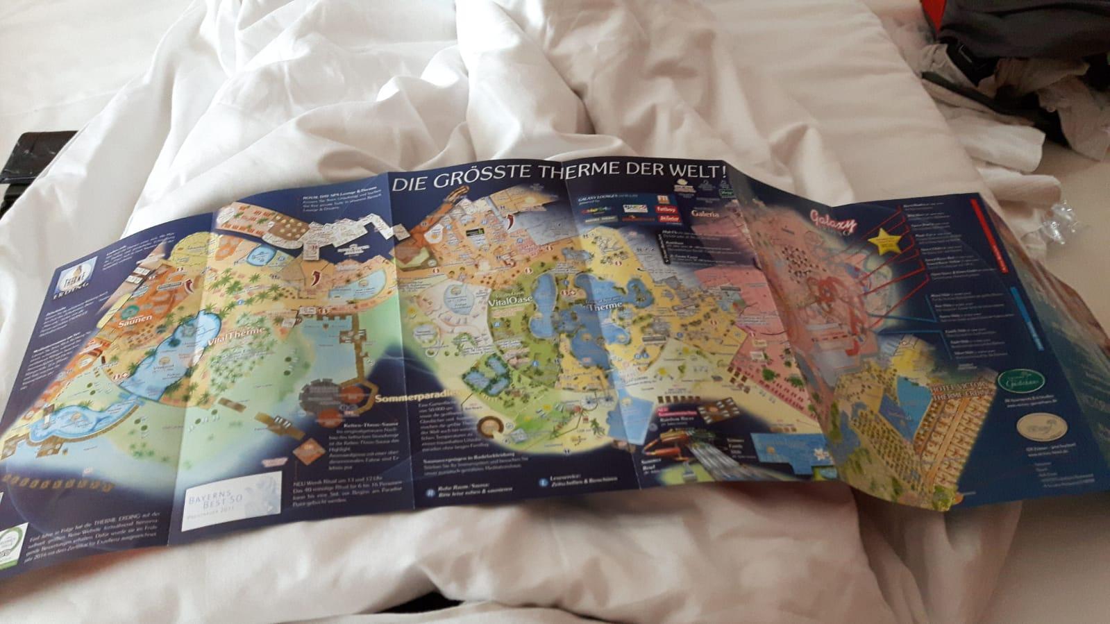 Kartta Erdingistä näyttää alueen laajuuden